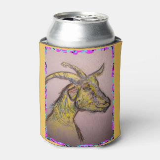 dibujo de la cabra enfriador de latas