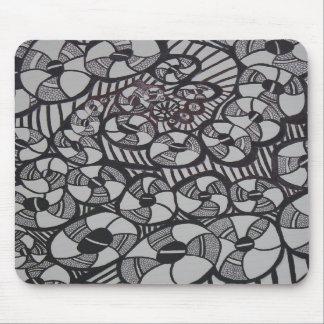Dibujo de la fábrica del buñuelo del calabozo alfombrilla de ratón