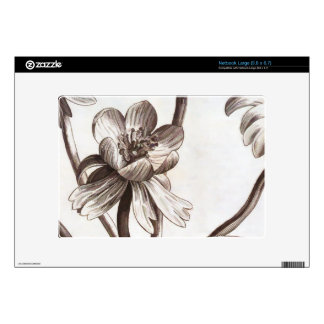 Dibujo de la flor skins para netbook