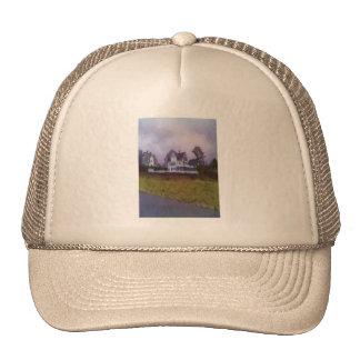 Dibujo de la foto de la casa gorra