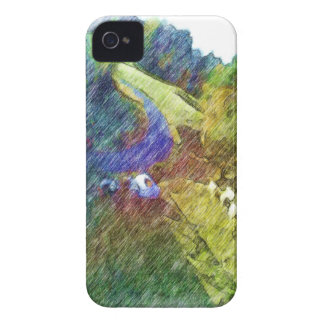 Dibujo de la foto de la naturaleza Case-Mate iPhone 4 cárcasa