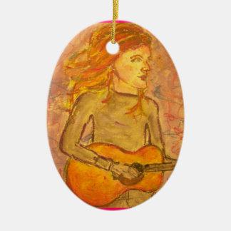 dibujo de la guitarra acústica ornamento para reyes magos