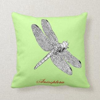 Dibujo de la libélula de Anisoptera Cojín