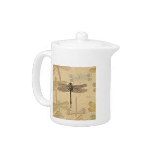 Dibujo de la libélula del vintage