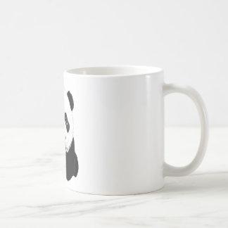 Dibujo de la panda taza de café
