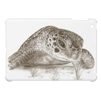 Dibujo de la tortuga de mar verde