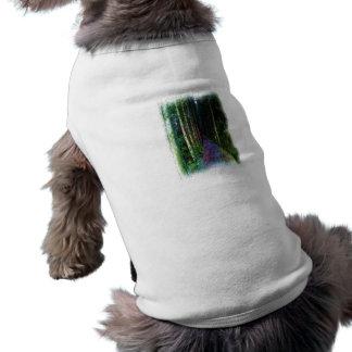 Dibujo de la trayectoria de bosque ropa de perros