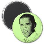 Dibujo de lápiz de Obama Imán Para Frigorifico