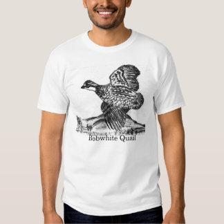 Dibujo de las codornices en la camiseta camisas