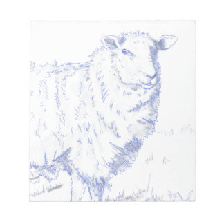 dibujo de las ovejas libreta para notas