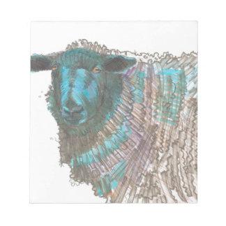 dibujo de las ovejas negras libretas para notas