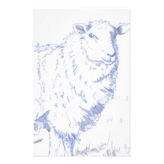 dibujo de las ovejas papeleria