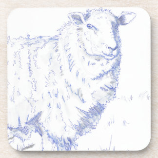 dibujo de las ovejas posavasos