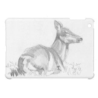 Dibujo de los ciervos iPad mini cárcasa
