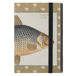 Dibujo de los pescados de agua dulce de la carpa iPad mini protector