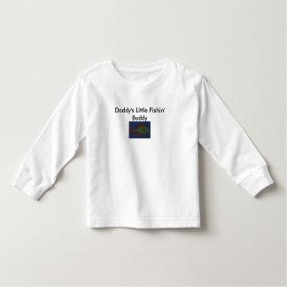 Dibujo de los pescados, poco compinche de Fishin Camisas