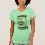 Dibujo de los torbellinos de las trombas marinas camisetas