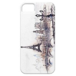 Dibujo de París iPhone 5 Protector