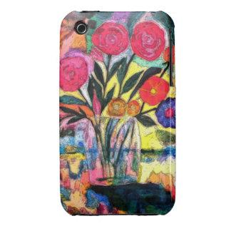 Dibujo de un florero con las flores iPhone 3 protectores