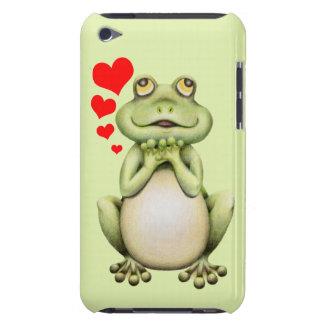 Dibujo del amor de la rana iPod touch Case-Mate protector
