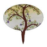 Dibujo del árbol decoraciones de tartas