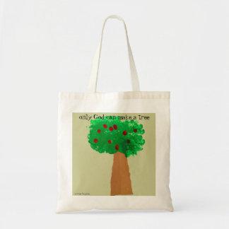 Dibujo del árbol del niño bolsas de mano
