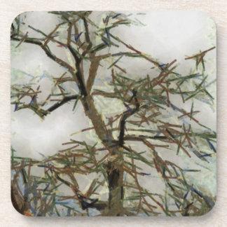 Dibujo del árbol posavasos