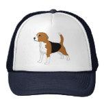 Dibujo del beagle gorro