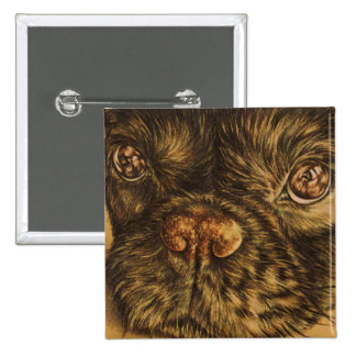 Dibujo del cierre de la cara del perrito para arri pin