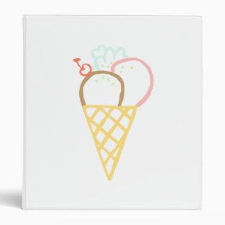Dibujo del cono de helado