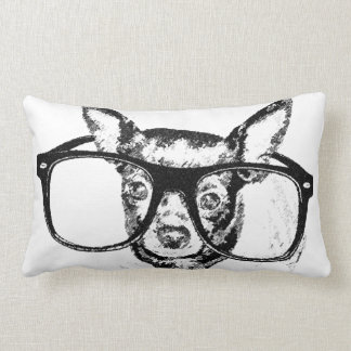 Dibujo del ejemplo del perro de la chihuahua cojín