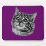 Dibujo del gatito tapetes de raton