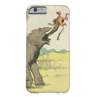 Dibujo del libro de la historia del elefante funda de iPhone 6 barely there