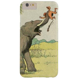Dibujo del libro de la historia del elefante funda barely there iPhone 6 plus