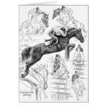 Dibujo del montaje de los caballos del puente por  felicitación