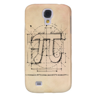 Dibujo del número del pi funda para galaxy s4
