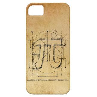 Dibujo del número del pi iPhone 5 funda