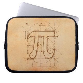 Dibujo del número del pi manga portátil