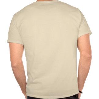 Dibujo del tiburón del negro del superviviente del camisetas