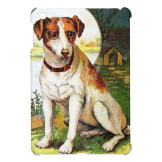 Dibujo del vintage: Jack Russel Terrier