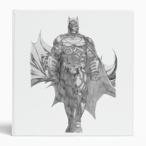 """Dibujo derecho de Batman Carpeta 1 1/2"""""""