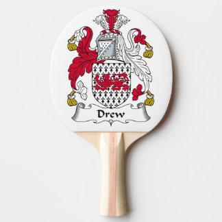 Dibujó el escudo de la familia pala de tenis de mesa