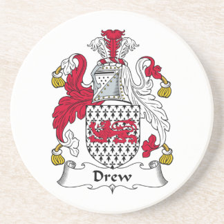 Dibujó el escudo de la familia posavasos cerveza