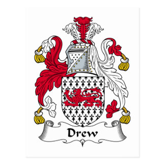 Dibujó el escudo de la familia tarjetas postales