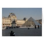 Dibujo en el Louvre 2 Tarjeta De Felicitación