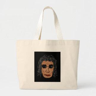 Dibujo fresco del hombre de la estrella del rock bolsa de mano