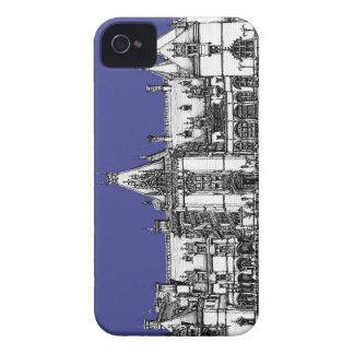 Dibujo gótico del renacimiento Case-Mate iPhone 4 carcasas
