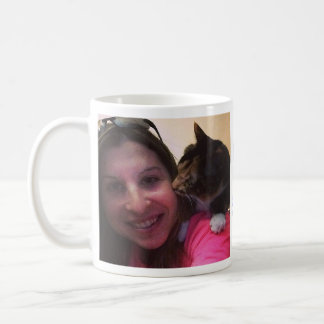Dibujó la taza personalizada