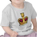 Dibujo magnífico de la corona del jubileo de diama camiseta