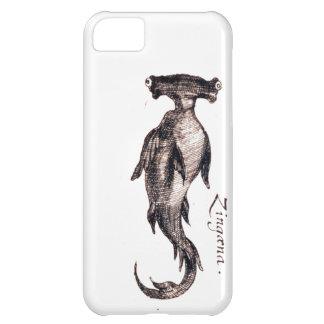 Dibujo náutico del libro de la vida marina del vin funda para iPhone 5C